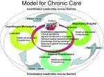 model for chronic care