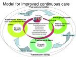 model for improved continuous care