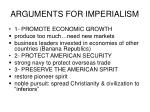 arguments for imperialism