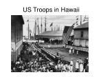 us troops in hawaii
