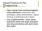 good practices for pair programming3