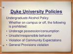 duke university policies2