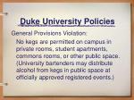 duke university policies4