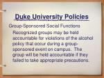 duke university policies6