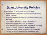 duke university policies7