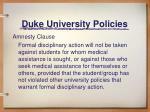 duke university policies8
