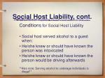 social host liability cont