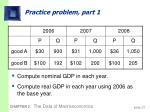 practice problem part 1