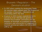 brussels i regulation the denmark situation