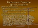 the brussels i regulation special jurisdiction2
