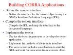 building corba applications1