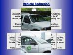 vehicle reduction