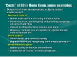 costs of sd in hong kong some examples41