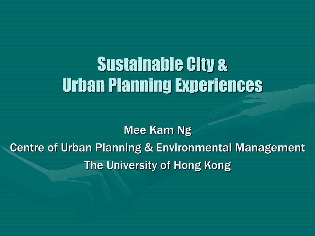 sustainable city urban planning experiences l.