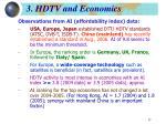 3 hdtv and economics3
