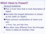 which views to present
