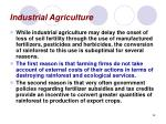 industrial agriculture48