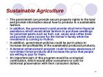 sustainable agriculture46