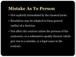 mistake as to person1