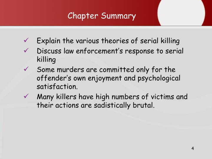 psychological case studies on serial killers In a study of 50 serial killers, researchers found about 70 percent experience some maltreatment and 50 percent go through psychological abuse growing up.