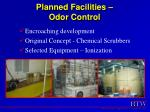 planned facilities odor control