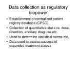 data collection as regulatory biopower