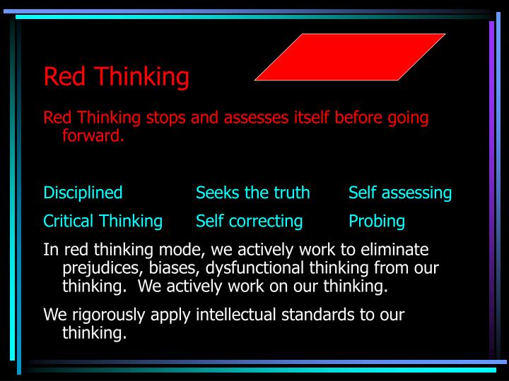 Red Thinking