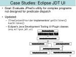 case studies eclipse jdt ui
