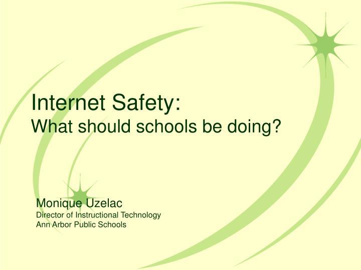 internet safety what should schools be doing n.