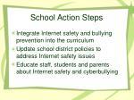 school action steps
