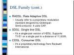 dsl family cont