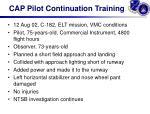 cap pilot continuation training2