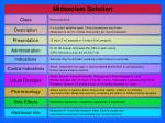 midazolam solution
