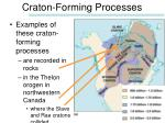 craton forming processes