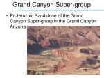 grand canyon super group