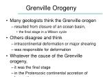 grenville orogeny1