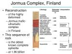 jormua complex finland