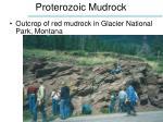 proterozoic mudrock