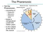 the phanerozoic