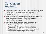 conclusion key points