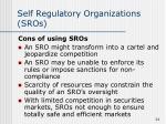 self regulatory organizations sros1