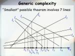generic complexity