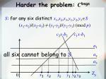 harder the problem c bsgs