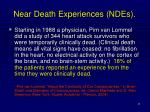 near death experiences ndes
