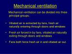 mechanical ventilation2