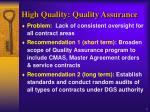 high quality quality assurance