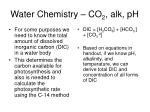 water chemistry co 2 alk ph7