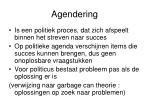 agendering