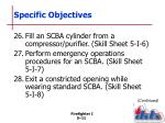 specific objectives9