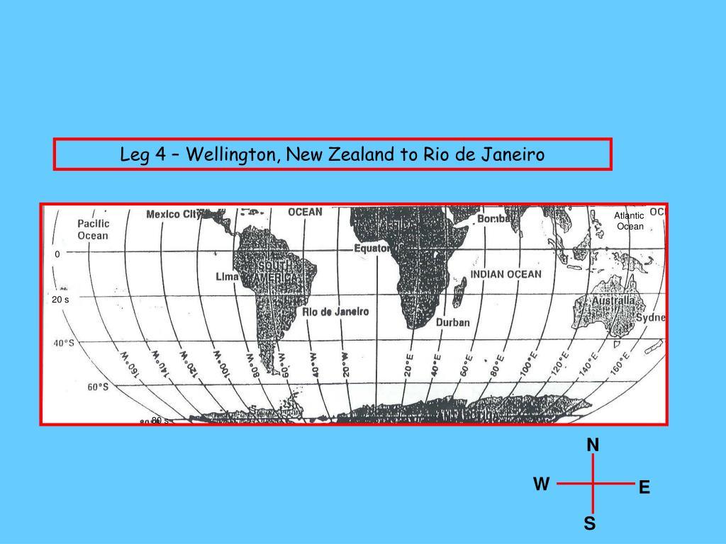 Leg 4 – Wellington, New Zealand to Rio de Janeiro